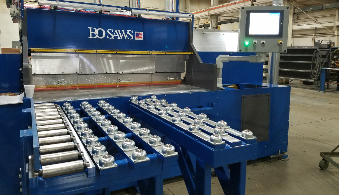 Steel Plate For Sale >> Precision Plate Saws – B&O Saws Inc.